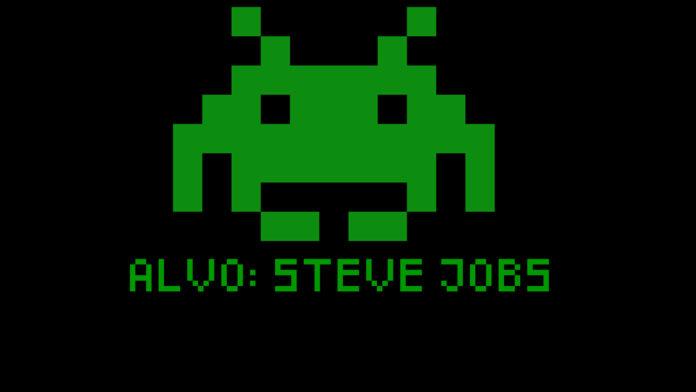 ALVO STEVE JOBS SPACE INVADERS