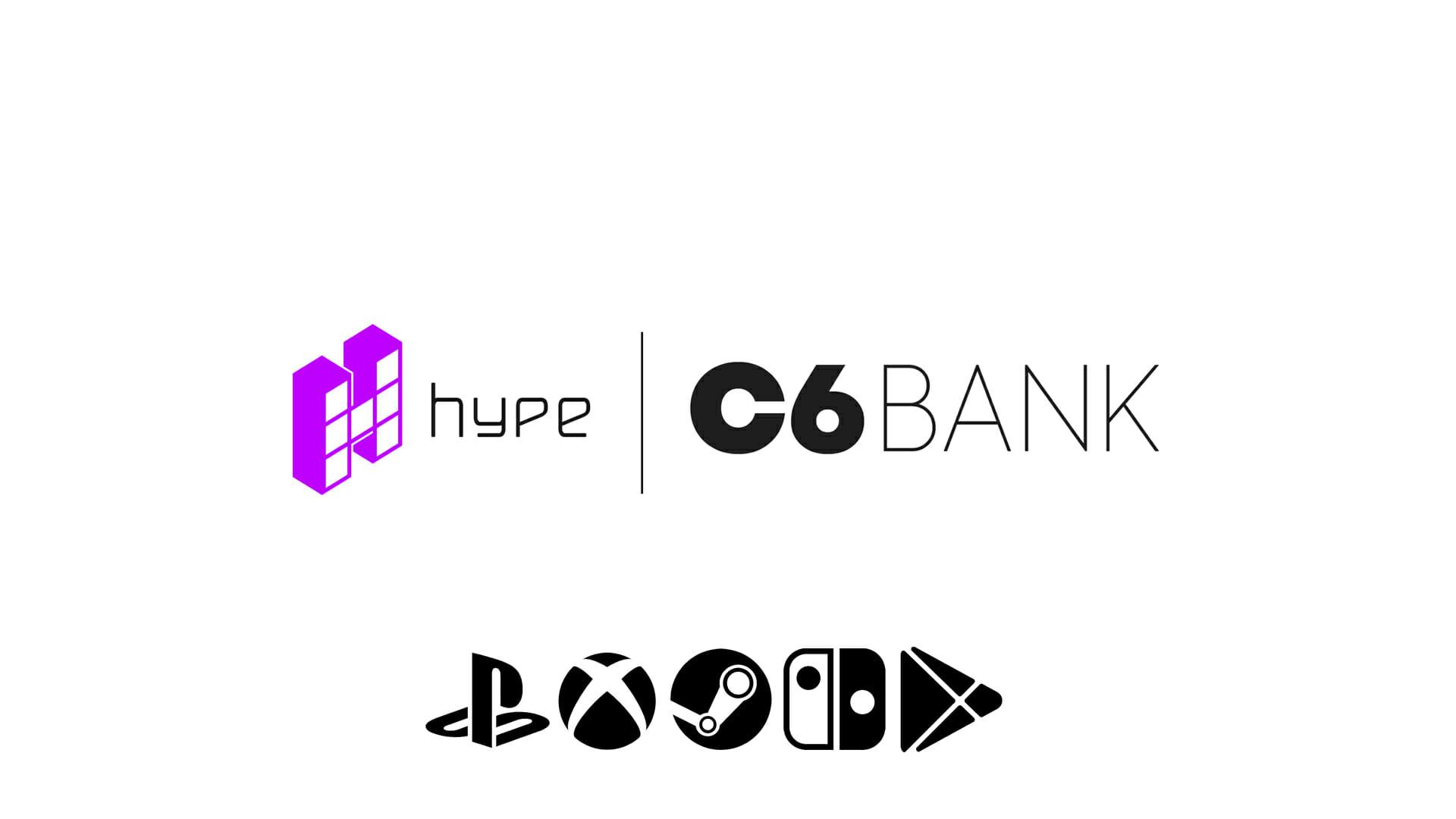 Hype Games e C6 Bank fecham parceria para oferecer produtos na C6 Store