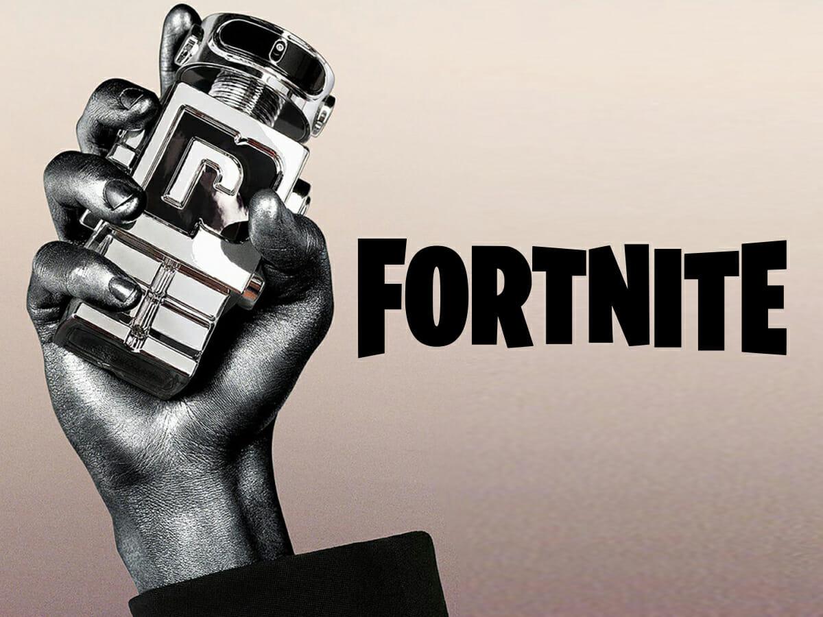 Fortnite e Paco Rabanne anunciam perfume feito com inteligência artificial e munido de chip
